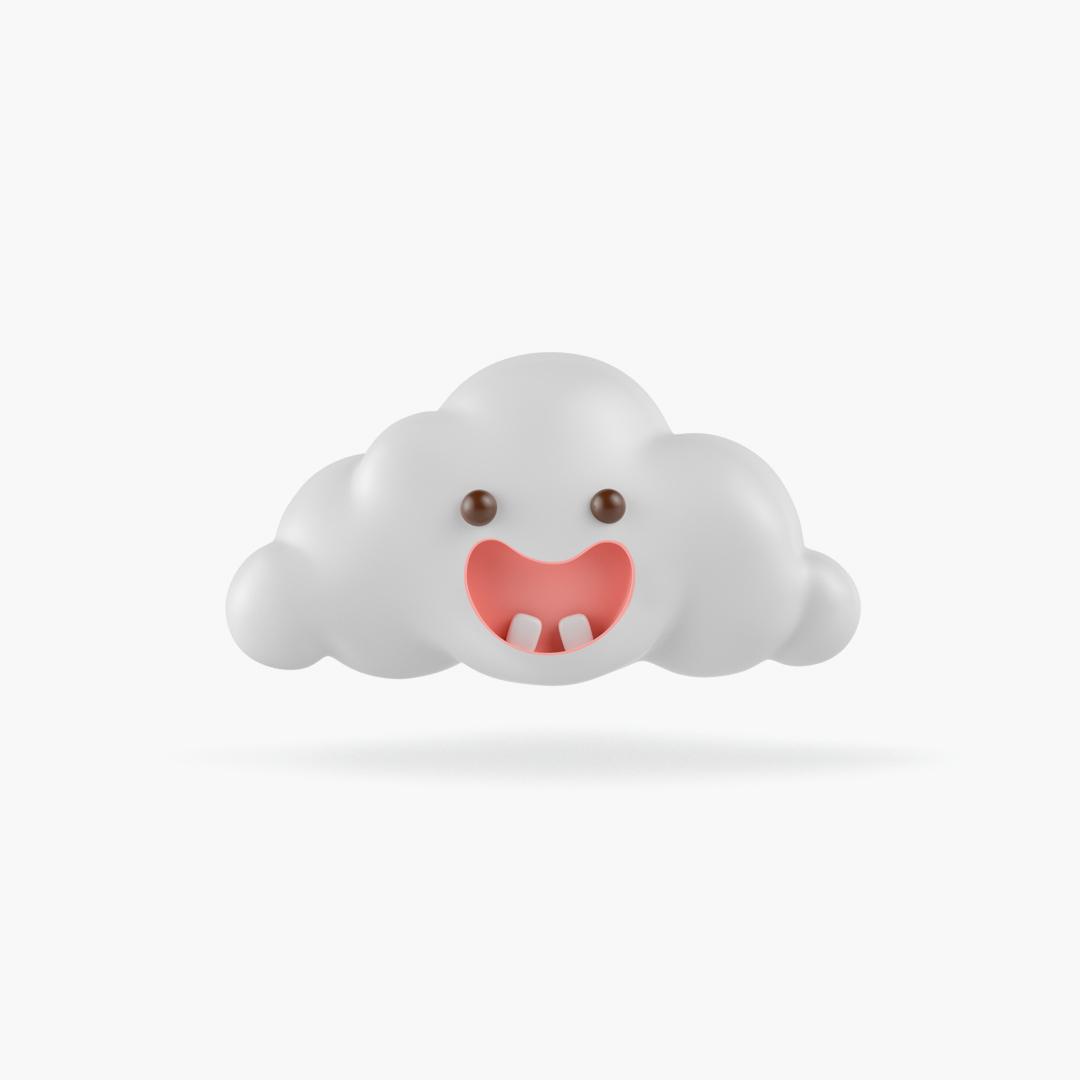 cuadrado nube